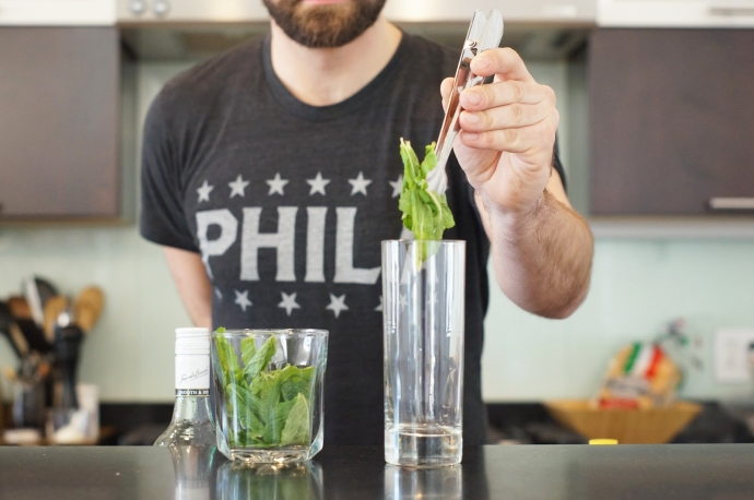 Home Bar Project: How to Make a Queen s Park Swizzle