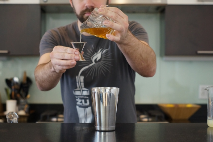 Home Bar Project: How to Make an Airmail