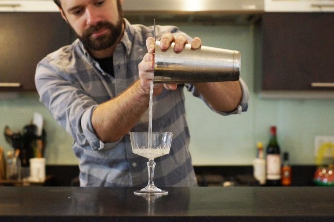 Home Bar Project: How to Make a Sands Cocktail