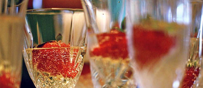 Strawberries Protect the Stomach from Alcohol
