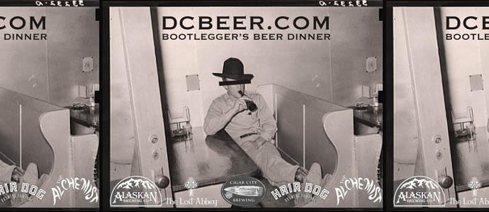 DCBeer.com Bootlegger's Beer Dinner at Smith Commons, Jan 31