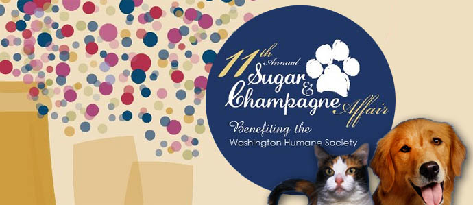 Drink for Dogs at the 11th Annual Sugar & Champagne Affair, Feb 1