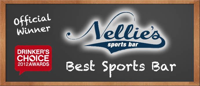 Drinker's Choice Winner, Best Sports Bar: Nellie's