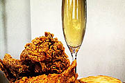 Cork Market Launches Fried Chicken & Champagne Monthly Dinners