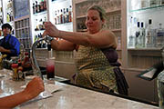 Gina Chersevani at Hank's Oyster Bar: Don't Mess with the Mixtress