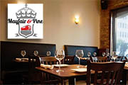 Mayfair & Pine Thibaut-Janisson Winery Wine Dinner, December 7