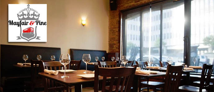 Mayfair & Pine Thibaut-Janisson Winery Wine Dinner, December 7