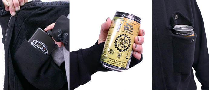 Winter Drinking Essentials: The Drinkmaster Hoodie