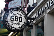 Now Open: GBD (Golden Brown Delicious)