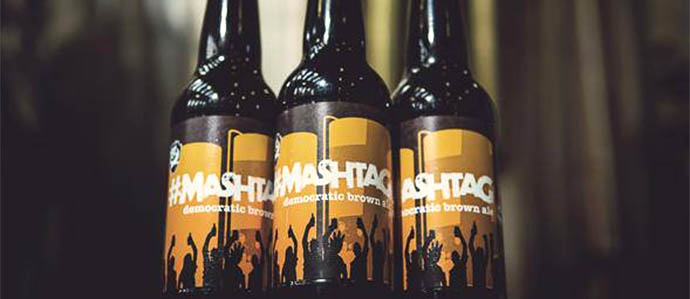 BrewDog Introduces Crowdsourced #MashTag Beer