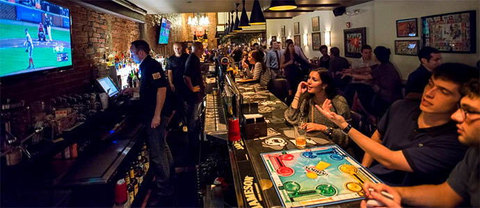 Play Around: 8 Bars With Games in Washington D.C.