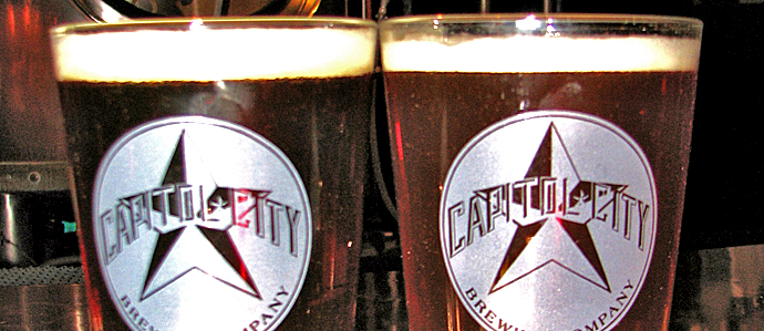 Capitol City Brewing Co. Rolls Out Seasonally Updated Draft List and Menus