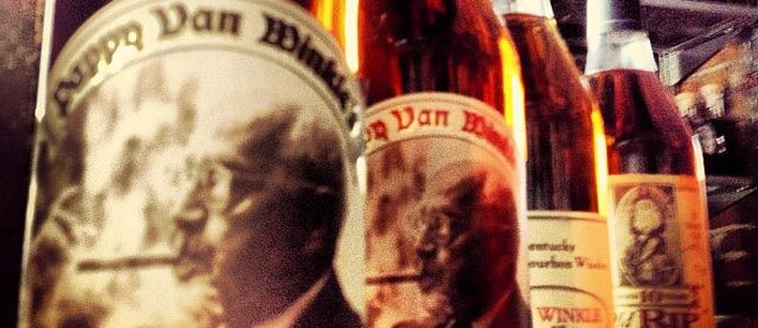 Pappy Van Winkle Spotted at Shelly's Back Room