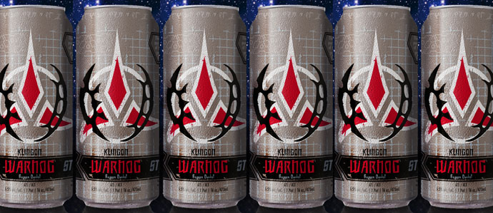 Klingon Warnog Boldly Goes Where No Dunkelweizen Has Gone Before