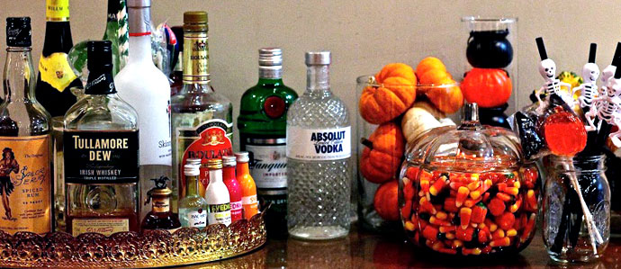 5 spooky cocktails for your halloween party - Halloween Themed Alcoholic Shots