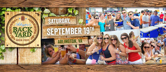 Sip Your Way Through Arlington's Largest Garden Party at the Backyard Beer Fest, Sept. 19