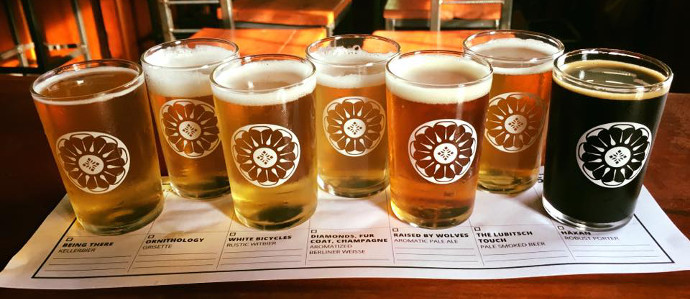 Join Firefly and Right Proper Brewing for the 100 Mile Supper Series, March 1