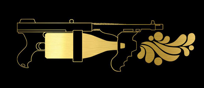 French Party Company Invents World's First Champagne Machine Gun
