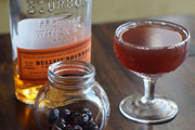 Home Bar Project: How to Make a Manhattan