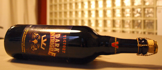Win a Free Bottle of Victory's Dark Intrigue
