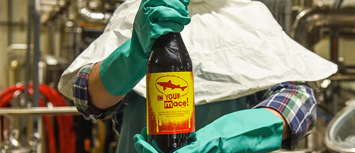 Dogfish Head Makes Beer Brewed With Mace