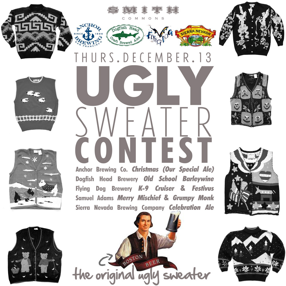 Smith Commons Ugly Sweater Contest