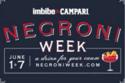 Raise a Glass to a Good Cause During Negroni Week, June 1-7