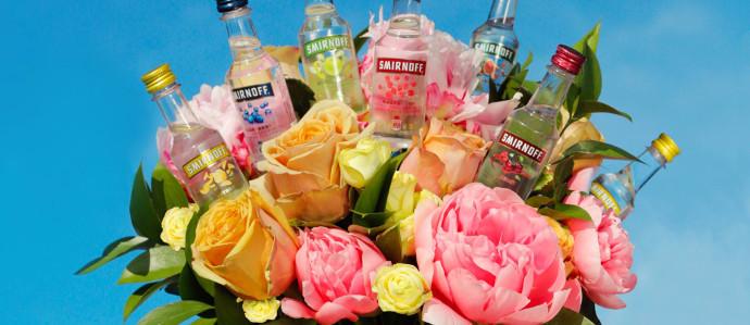 Smirnoff Debuts Low Calorie Rose Sparkling Seltzer
