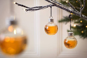 Deck Your Halls With These Whiskey-Filled Ornaments