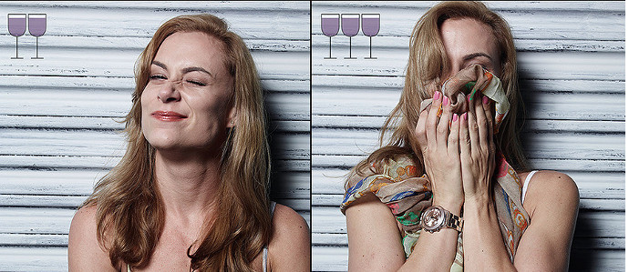 Here's What People Really Look Like After 3 Glasses of Wine